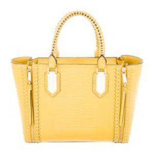 Henri Bendel A-List Yellow Leather Satchel